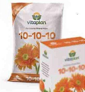 NPK 10-10-10 FLORAÇÃO FLORES- MUDAS 1KG -VITAPLAN