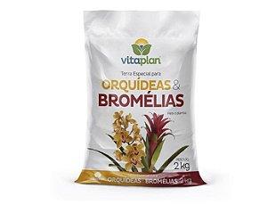 Terra Pronta Orquídeas & Bromélias 2kg Vitaplan - 9001001