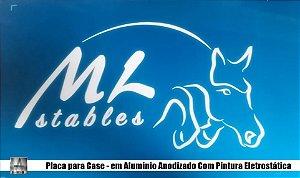 Comprar Placa de Aluminio Para Case Com Pintura Eletrostatica