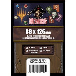 Sleeve para Magic: Commander e Black Stories (88 x 126)