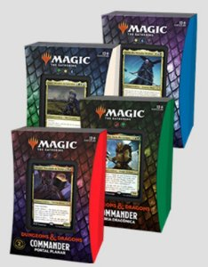 Magic Deck de Commander - Dungeons and Dragons: Adventures in the Forgotten Realms