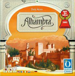 Alhambra +Promo 1: As Construções Mágicas+ Promo 2: As Medinas