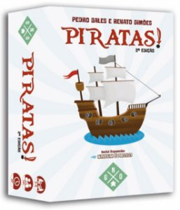 Piratas Segunda Edição (inclui Expansão Navegar é preciso)