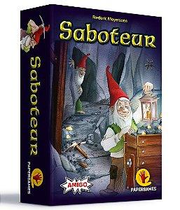 Saboteur + Cartas Promocionais Ouro Perdido
