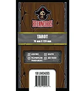 Sleeves Bucaneiros Tarot (70x120mm)