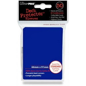 Ultra Pro- Deck Protector Solid (Blue/ Azul)