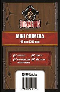 Sleeves Bucaneiros Mini Chimera (43x65mm)