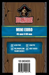 Sleeves Bucaneiros Mini Euro (45x68mm)
