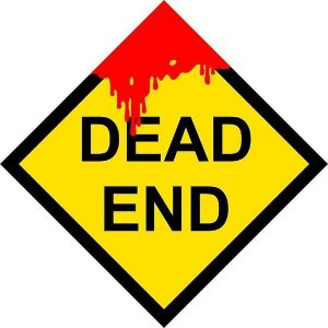 Placa Dead End