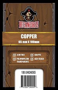 Sleeves Bucaneiros Copper (65 x 100 mm)
