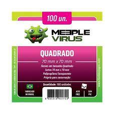 Meeple Virus Quadrado (70mm x 70mm)
