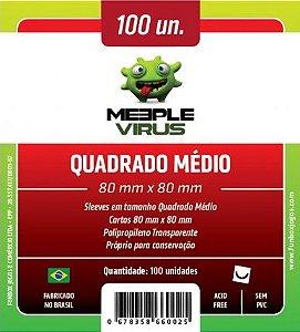 Meeple Virus Quadrado Médio (80mm x 80mm)