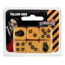 KIt dados Zombicide - Amarelo
