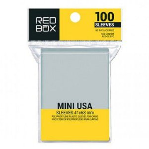 Sleeves Redbox- Mini USA (41x63mm)