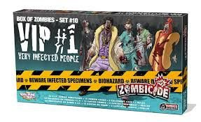 Box of Zombies- SET #10- VIP 1- Very Infected People- Expansão Zombicide