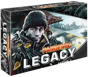 Pandemic Legacy Black Segunda Temporada