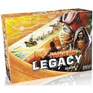 Pandemic Legacy Yellow Segunda Temporada (Pré-Venda)