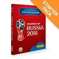 Álbum da Copa do Mundo Rússia 2018- Capa Dura + 60 Figurinhas - Pré Venda