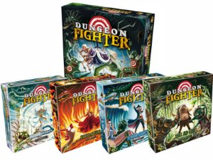Combo Dungeon Fighter + 4 Expansões