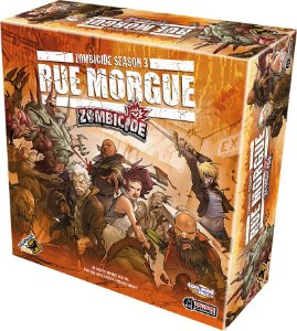 Zombicide Season 3 Rue Morgue +Personagem Promocional