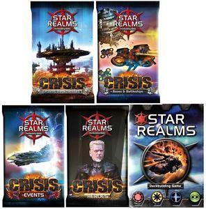 Combo Star Realms + Expansão CRISIS