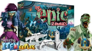Tiny Epic Zombies- Deluxe (Importado)
