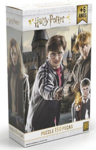 Harry Potter-Quebra Cabeça 150 pçs