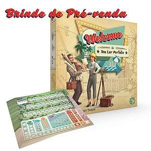 Welcome To (Pré venda) + Brinde: 50 Folhas