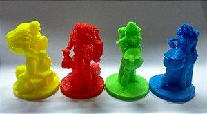Miniaturas para o jogo Clank- Kit com 4 unid