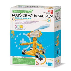 Robô De Água Salgada- Brinquedo Educativo