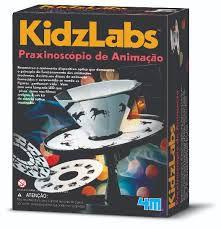 Praxinoscópio De Animação- Brinquedo Educativo