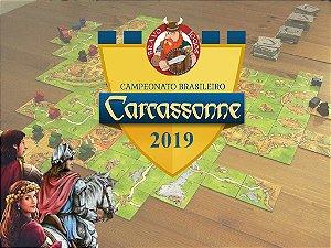 Inscrição Torneio Regional de Carcassonne 2019- 22/06