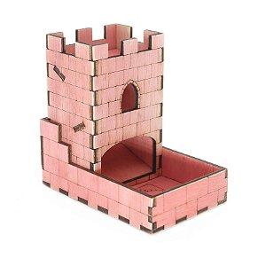 Torre de Dados Rosa Pequena