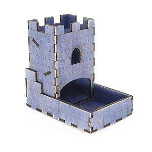 Torre de Dados Roxa Pequena