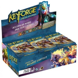 Keyforge - A Era da Ascensão - Deck Display - Grátis 500 Sleeves