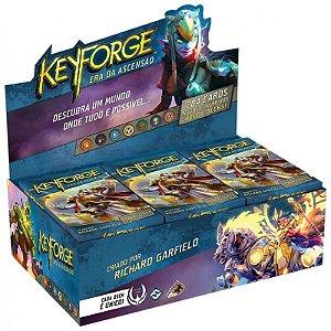 Keyforge - A Era da Ascensão - Deck Display - Grátis 500 Sleeves