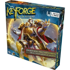 Keyforge Starter Set - A Era da Ascensão + Sleeves Grátis