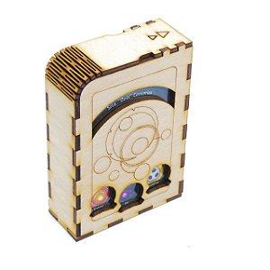 Porta Deck para Keyforge - Individual (versão em Plywood)