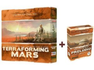 Terraforming Mars + Prelúdio + Sleeves Grátis