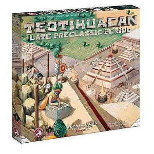 Teotihuacan: Late Preclassic Period + 5 Promos + INSERT + kit com 10 Cacaus (Pré-venda)