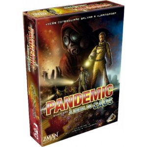 Pandemic à Beira do Caos (Expansão)