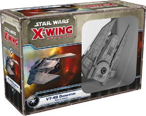 Star Wars X-Wing VT-49 Decimator