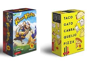Brave Rats + Taco Gato Cabra Queijo Pizza + Sleeves Grátis