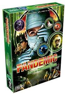 Pandemic Estado de Emergência (Expansão) + Sleeves Grátis