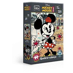 Minnie - 500 peças - Série Mickey Mouse Nano