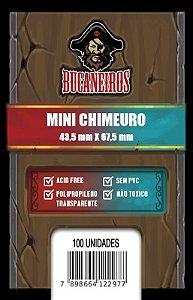 Sleeves Bucaneiros Mini Chimeuro (43,5 x 67,5mm)