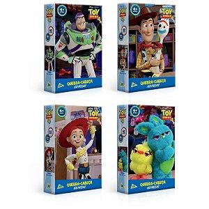 Combo - 4 Quebra-cabeças Toy Story 4