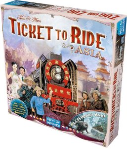 Ticket to Ride Asia - Expansão