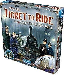 Ticket to Ride Reino Unido e Pensilvânia - Expansão