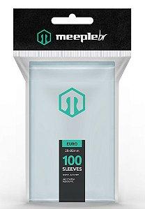 Sleeves MeepleBR Euro 59 x 92 mm